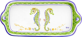 Seahorse Large Butter Tray