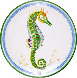 Seahorse Dinner Plate
