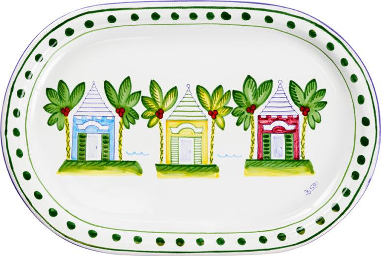 Three Butteries Oval Platter