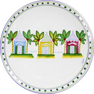 Three Butteries Round Platter