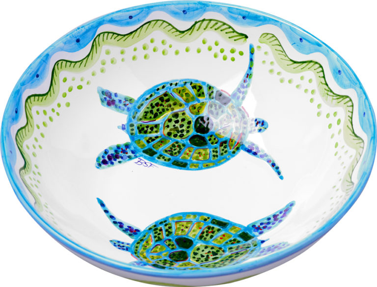 Turtle Large Bowl