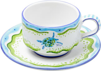 Turtle Cup and Saucer