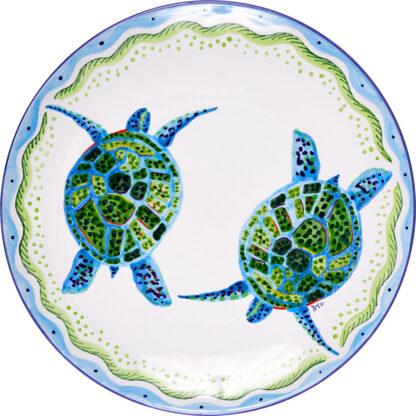 Turtle Round Platter