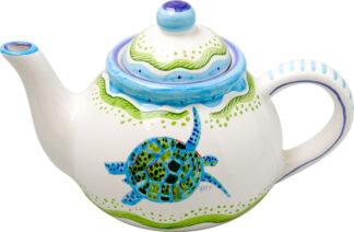Elegant Lizard Teapot