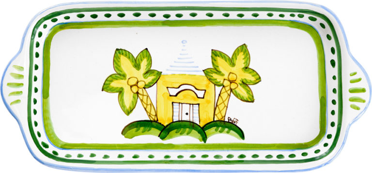 Yellow Buttery Large Butter Tray