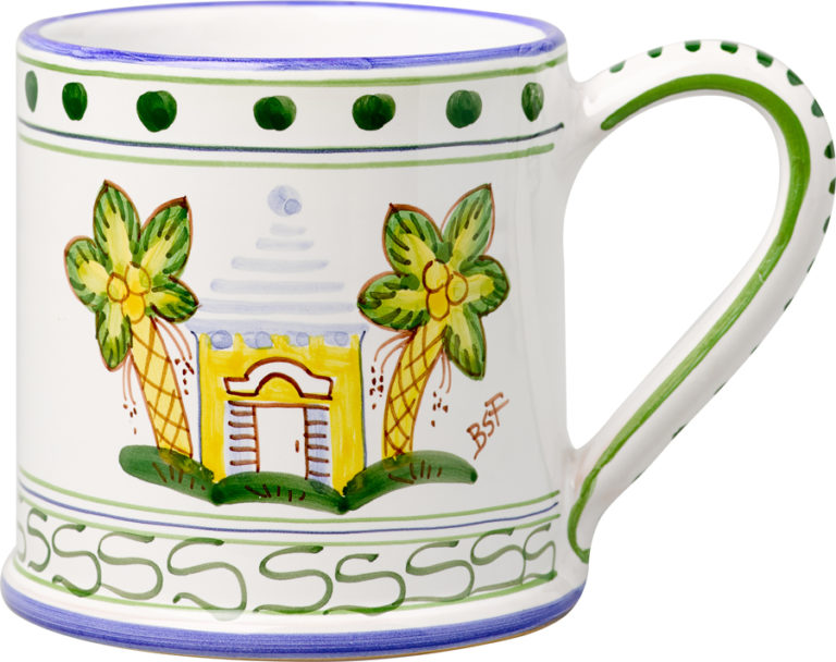 Yellow Buttery Large Mug