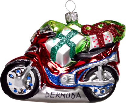 Scooter Christmas Ornament