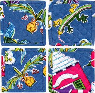 Bermuda Medley Set of 4 Coasters