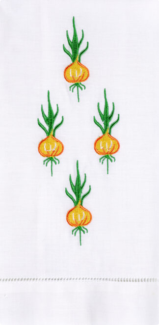 Bermuda Onions Guest Towel