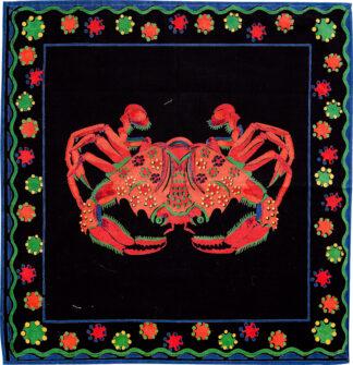 Black Crab Napkin