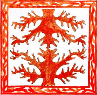 Orange Coral Napkin