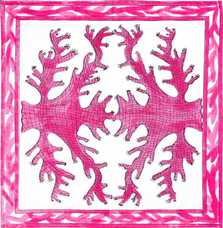 Pink Coral Napkin