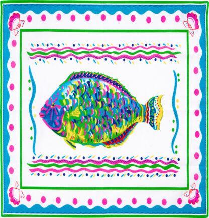 White Parrotfish Napkin