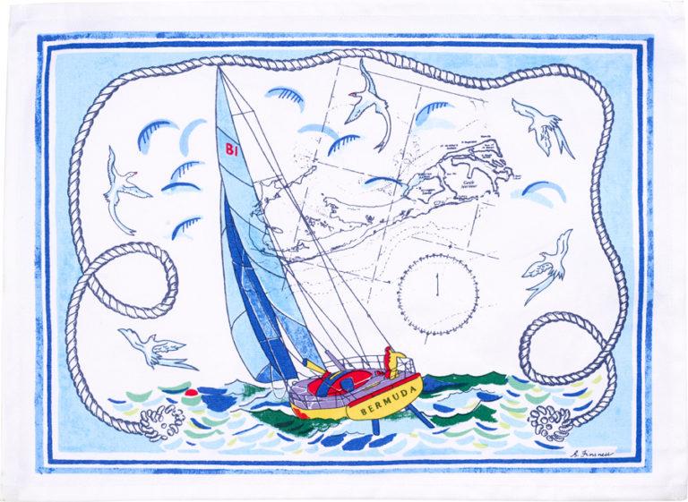Bermuda Sailing Placemat