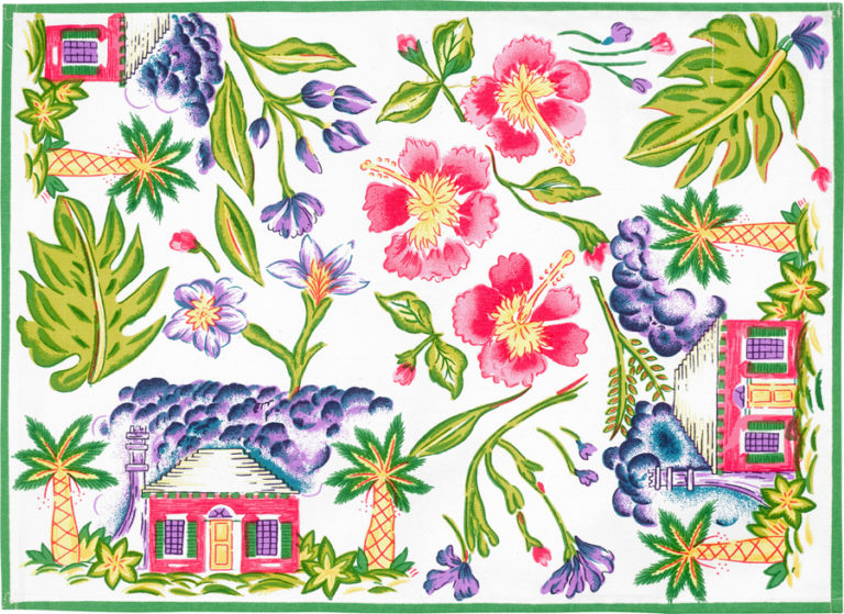 White Cottage Placemat