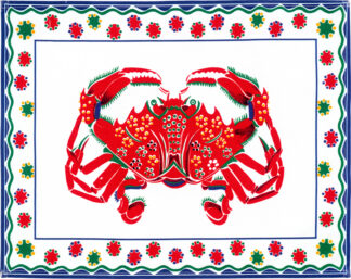 White Crab Placemat