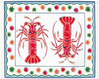 White Lobster Placemat