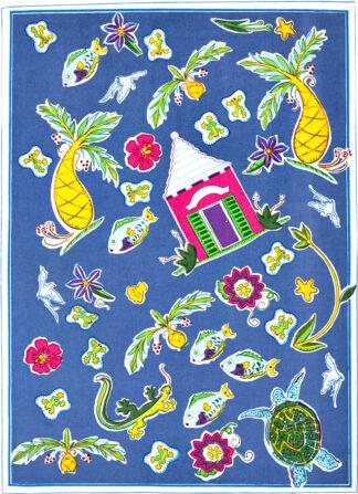 Bermuda Medley Tea Towel