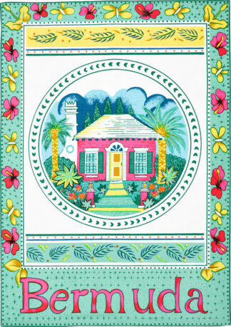 Bermuda Cottage Tea Towel