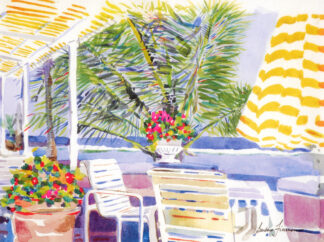 Afternoon Tea at Coral Beach Print