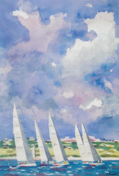 Newport Bermuda Print