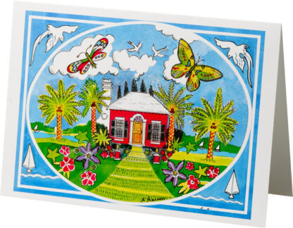 Butterfly Cottage Notecard