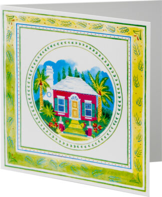 Bermuda Cottage Notecard