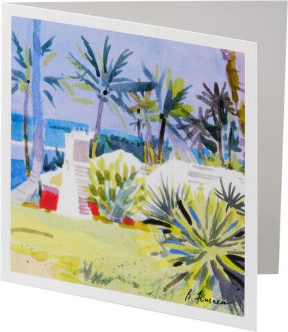 Down to Coral Beach Notecard