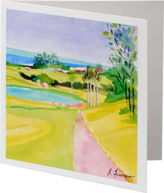 Fairmont Southampton Golf Course Notecard