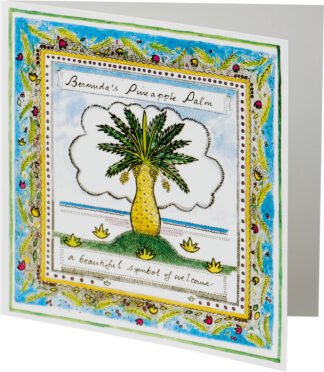 Palm Tree Notecard