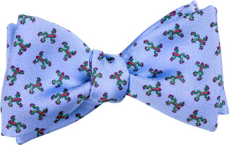 Blue Tree Frog Bow Tie