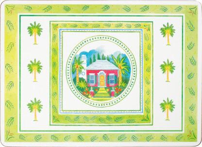 Bermuda Cottage Set of 4 Cork Back Placemats