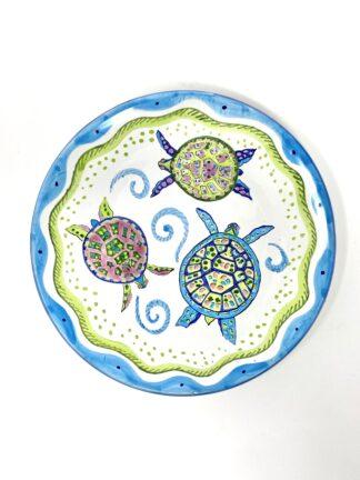 Turtle Salad Plate