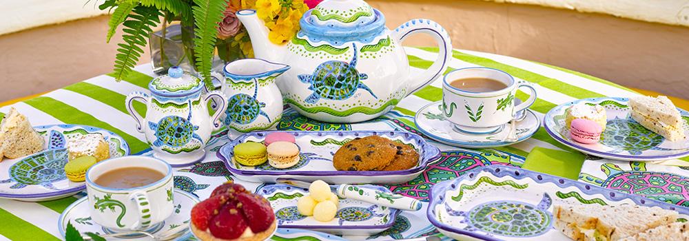 Tropical Ceramic Dinnerware