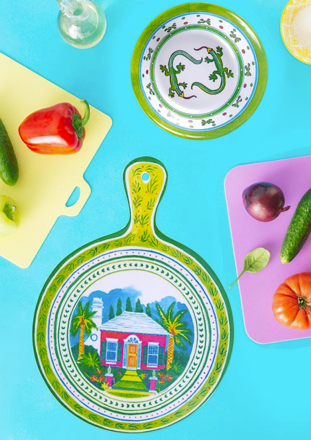 Tropical Melamine Dinnerware