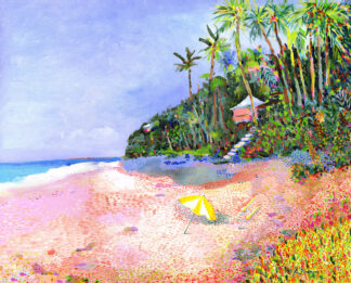 Coral Beach Canvas Print