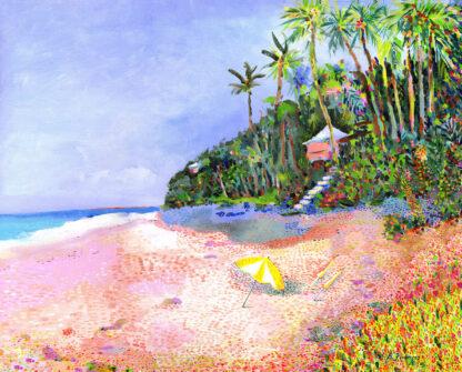 Coral Beach Canvas Print