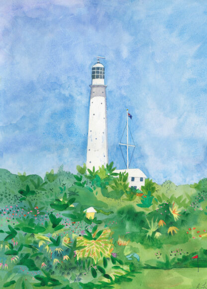 Gibbs Hill Lighthouse Canvas Print
