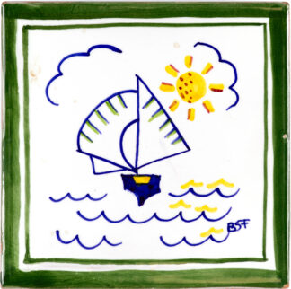 Ceramics Tiles Small Dinghy