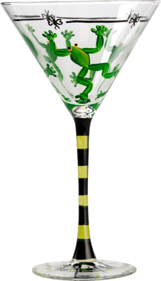 Tree Frog Martini Glass