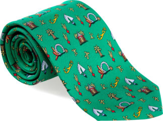 Men's Medley Tie in Green