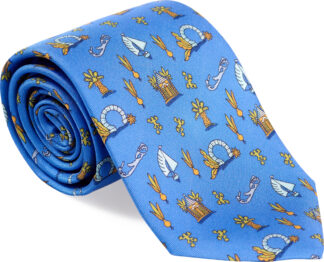 Men's Medley Tie in Light Blue