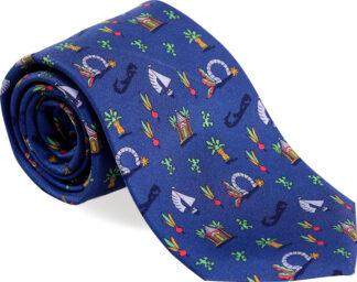Men's Medley Tie in Medium Blue