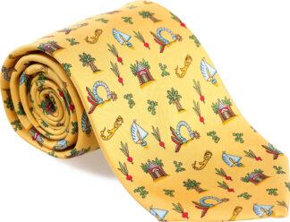 Men's Medley Tie in Yellow