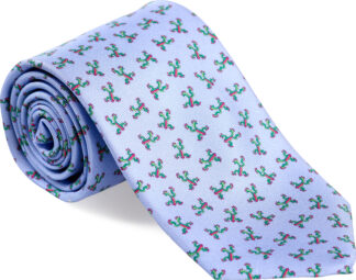 Men's Tree Frog Tie in Light Blue