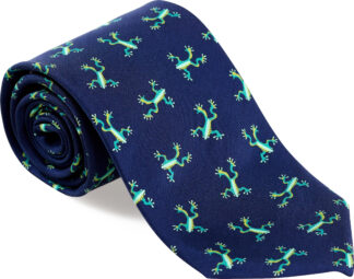 Men's Tree Frog Tie in Navy