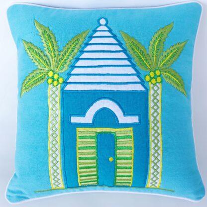 Bermuda Home Throw Pillow