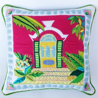 Bermuda Home Throw Pillow
