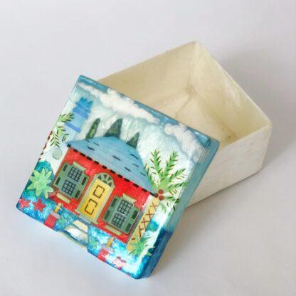 Bermuda Cottage Capiz Shell Box