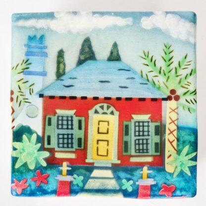 Cottage themed art